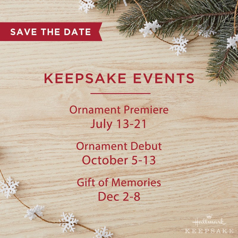 Hallmark Christmas In July 2019 Ornaments.Baby It S Hot Outside But Inside Our Store We Are